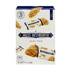 Biscoito Belga Jules Destrooper Chocolate Minis 126 G