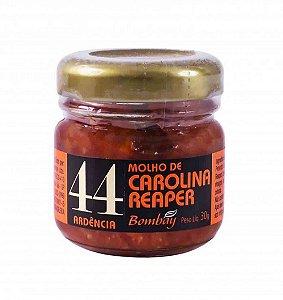Molho de Pimenta Carolina Reaper Bombay 30g