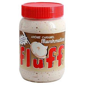 Marshmallow De Colher Pote Fluff Cremoso Caramelo 213 g