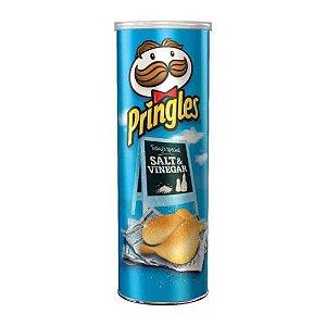 Batata Chips Pringles Salt & Vinegar Importada 165 gr