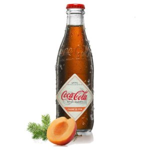 Refrigerante Coca Cola Speciality Apricot & Pine