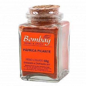 Tempero Paprica Picante Bombay Vidro 60 gr
