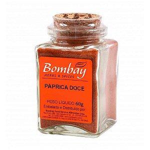 Tempero Paprica Doce Bombay Vidro 60 gr