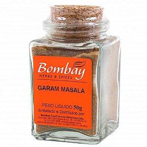 Tempero Garam Masala Bombay Vidro 50 gr