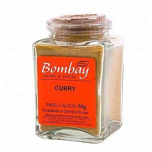 Tempero Curry Bombay Vidro 50 gr