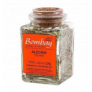 Tempero Alecrim Bombay Vidro 25 gr