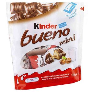Chocolate Kinder Mini Bueno Importado Alemanha 108g