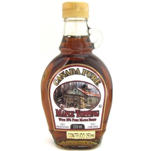 Maple Syrup Xarope de Bordo Canada Pure 15%  250 ml Original