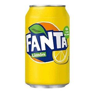 Refrigerante Fanta Lemon Importado Da Inglaterra 330 ML