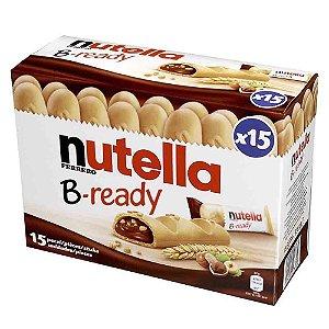 Nutella B-ready Biscoitos Wafer Com Creme Nutella Kit c/ 15