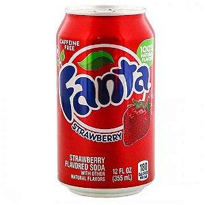 Refrigerante Fanta Strawberry Morango Importado EUA