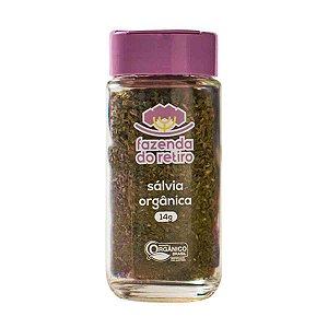 Tempero Salvia Organico Vegano Fazenda Retiro 14 gr