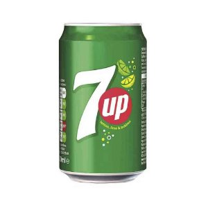 Refrigerante Limao 7up Seven Up Original Importado 330 ml