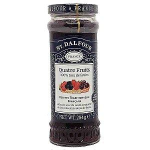 Geleia Francesa St Dalfour Quatro Frutas 284 g Importada