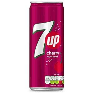 Refrigerante 7UP Cherry Cereja Seven Up 330 ml