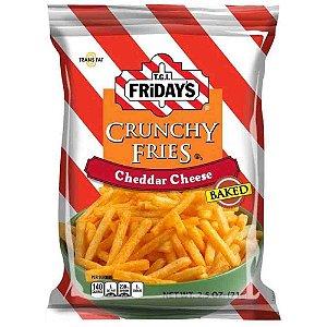 Salgadinho Tgi Fridays Cheddar Cheese Fries Importado 127 gr