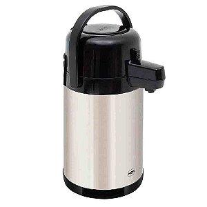 Garrafa Termica Total Inox Original Mor 1,9 Litros Cafe Agua