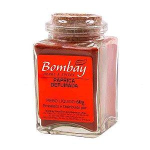 Tempero Paprica Defumada Bombay Vidro 60 gr