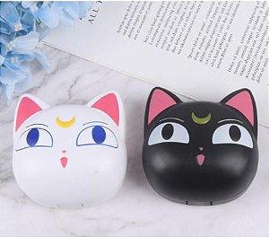 Kit Estojo (case) Luxo Gato Sailor Moon para viagem