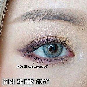 Mini Sheer Gray