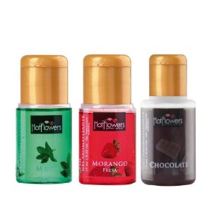 Gel Aromatizante Hot Para Sexo Oral 15ml