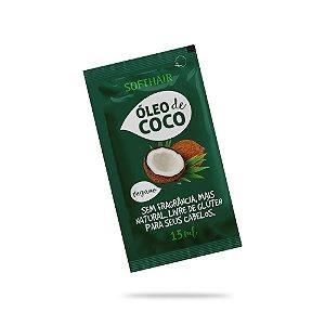 Sachê Óleo de Coco Vegano Soft Hair 15ml