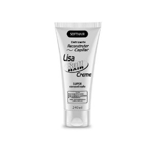 Defrizante Reconstrutor Lisa Creme Soft Hair  240ml