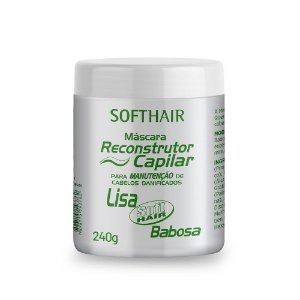 Máscara Reconstrutor Lisa Babosa Soft Hair 240g