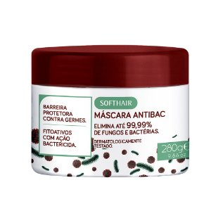 Máscara Soft Antibac 280g Soft Hair