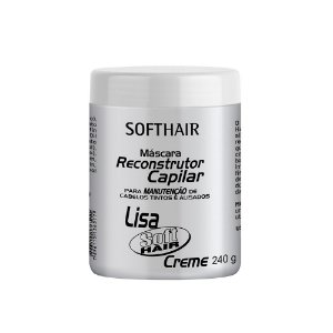 Máscara Reconstrutor Lisa Creme 240g Soft Hair