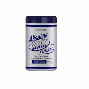 Alisaline Creme Azul (Sódio) - Concentrado 500g Soft Hair