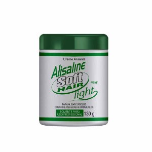 Alisaline Creme Verde (Sódio) - Super Concentrado 130g Soft Hair