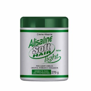 Alisaline Creme Verde (Sódio) - Super Concentrado 270g Soft Hair