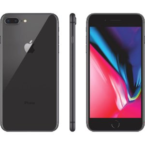 "iPhone 8 Plus 64GB Cinza Tela 5.5"" iOS 12 4G Câmera 12MP - Apple"