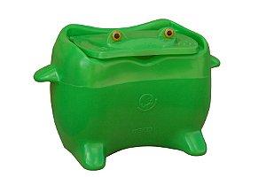 Baú de Brinquedos Decorativo Plástico Frogy Freso