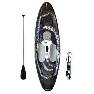 Prancha Stand Up Paddle com Remo e Leash Preto Camuflado Freso