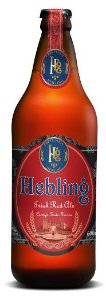 CERVEJA IRISH RED ALE HEBLING 600 ML