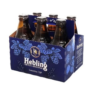 KIT 6 CERVEJAS HEBLING 300 ML