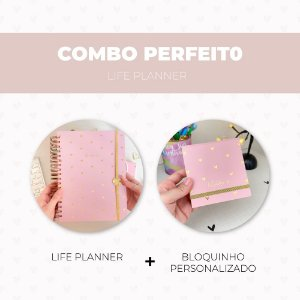 Combo Perfeito - Life Planner