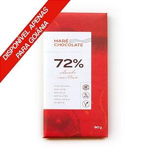 Chocolate 72% Adoçado Com Maça 80g