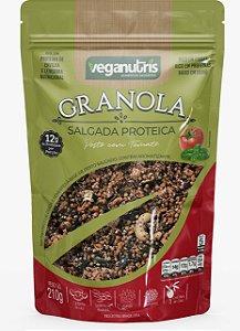 Granola Salgada Proteica Pesto com Tomate 210g