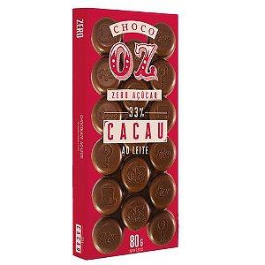 Choco Oz 33% Cacau ao Leite 80g
