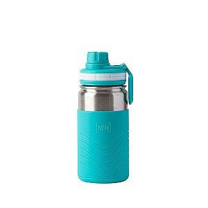 Garrafa Térmica Hydra Bottle Kids Turquesa 350ml