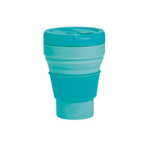Copo Retrátil Menta 375ml