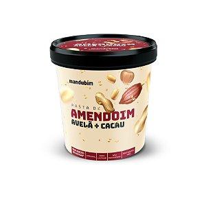 Pasta de Amendoim Integral com Avelã com Cacau 450g