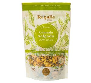 Granola Salgada Low Carb 250g
