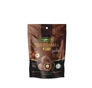 ChocoTâmara Bites com Chocolate 70% Recheado com Avelã 60g