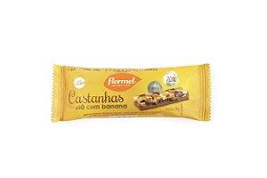 Barra Castanhas Avelã com Banana e Chocolate 27g