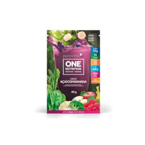 One Nutrition Açaí com Banana Sachê 45g