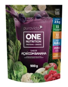 One Nutrition Açaí com Banana 900g